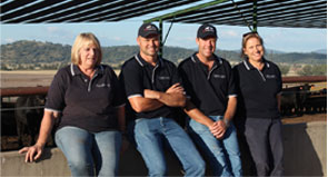 The team at Quirindi Feedlot Services